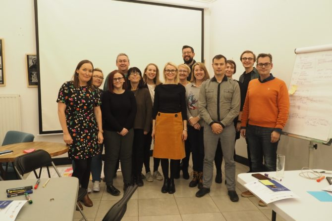 First kick-off Transnational Project Meeting in Warsaw!