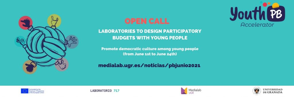 Open call for laboratories to design participatory budgets with young people