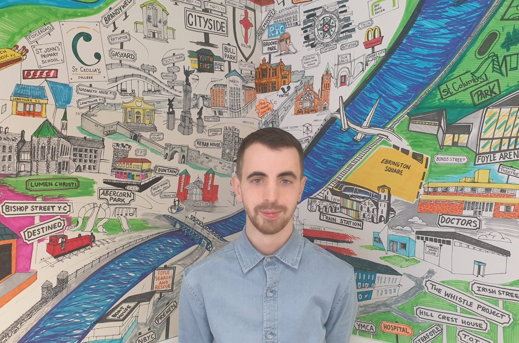Entrevista con Liam, parte del YOUth Making it Happen PB Steering Group